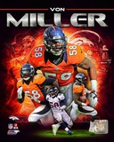Von Miller 2013 Portrait Plus The Exorcist Denver Broncos 2012 Team Composite The Exorcist NFL- Von Miller von+miller