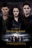 Twilight Breaking Dawn Part 2 - Edward, Bella and Jacob Movie Poster