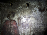 The Newlyweds in Underground Catacombs of San Gaudioso (St. Gaudiosus), Naples, Campania, Italy