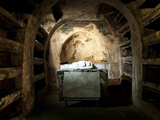 The Underground Catacombs of San Gaudioso (St. Gaudiosus), Naples, Campania, Italy, Europe