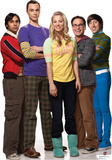 Big Bang Theory Group Lifesize Standup Poster