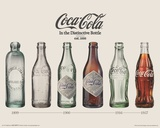 Coca-Cola- Evolution Mini Poster