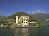 Buy Villa del Balbianello on Punta di Lavedo in Spring Sunshine, Lake Como, Italian Lakes, Italy at AllPosters.com