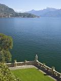 Buy View from Terrace of 18th Century Villa del Balbianello, Lenno, Lake Como, Italian Lakes, Italy at AllPosters.com
