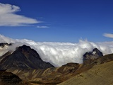 View from Mount Chacaltaya, Calahuyo, Cordillera Real, Bolivia, Andes, South America