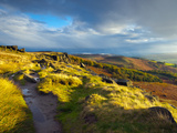 Stanage Edge, Peak District National Park, Derbyshire, England