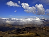 View from Mount Chacaltaya, Altiplano in Distance, Calahuyo Near La Paz, Bolivia, Andes