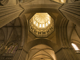 Detail of Octagonal Lantern Tower, Notre Dame Cathedral, Coutances, Cotentin, Normandy, France