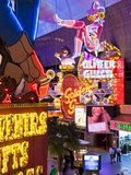 The Freemont Street Experience in Downtown Las Vegas, Las Vegas, Nevada, USA, North America