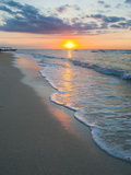 Sunset on the Tropical Island of Gili Trawangan, Gili Islands, Indonesia, Southeast Asia, Asia