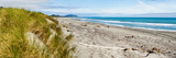 Panorama of Wild and Rugged Ross Beach, West Coast, South Island, New Zealand, Pacific