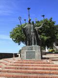 Plaza de La Rogativa, Old San Juan, San Juan, Puerto Rico, West Indies, Caribbean, USA