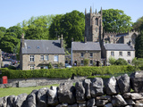 Hartington Village and Church, Peak District, Derbyshire, England, United Kingdom, Europe