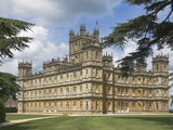 Highclere Castle, Home of Earl of Carnarvon, Location for BBC's Downton Abbey, Hampshire, England