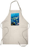 Key West, Florida - Sea Turtles Apron