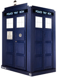 3 Dimensional Lifesize Tardis - Dr Who Cardboard Standup Cardboard Cutouts