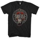 Nirvana - Established 1988 Guitar Stand Shirts from Concert Tee Company