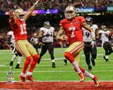 Colin Kaepernick Touchdown Super Bowl XLVII