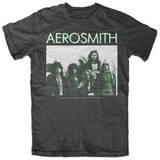 Aerosmith - America's Greatest RNR Band Aerosmith- Rocks Album Cover Aerosmith Aerosmith- Get Your Wings Juniors: Aerosmith - Winged Logo Aerosmith- Distressed White Wings Aerosmith- Dream On Aerosmith Aerosmith- Stadium Tour '84 Raglan (Front/Back) Aerosmith Aerosmith - Livin' On The Edge Aerosmith Aerosmith - Ray Logo Juniors: Aerosmith- Logo Scoop Neck Aerosmith, Property of. Est. 1970 Boston, MA Aerosmith- Walk This Way aerosmith