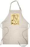 Egypt and Arabia - Panoramic Map Apron