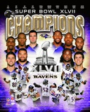 Baltimore Ravens Super Bowl XLVII Champions Composite