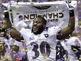 Super Bowl XLVII: Ravens vs 49ers - Bernard Pierce
