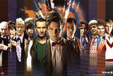 Doctor Who Doctors Collage