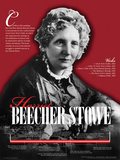 Harriet Beecher Stowe - Educational Poster