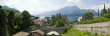 Buy Houses in a Town, Villa Melzi, Lake Como, Bellagio, Como, Lombardy, Italy at AllPosters.com
