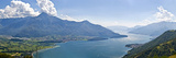 Buy Mountain Range at the Lakeside, Lake Como, Como, Lombardy, Italy at AllPosters.com