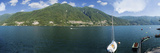 Buy Sailboat in a Lake, Lake Como, Como, Lombardy, Italy at AllPosters.com