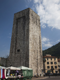 Buy Medieval Tower in a City, Como, Lakes Region, Lombardy, Italy at AllPosters.com