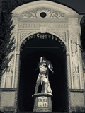 Buy Statue of Hercules and Lica in a Garden, Grand Hotel Villa D'Este, Cernobbio, Lake Como, Lakes R... at AllPosters.com