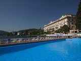 Buy Swimming Pool in a Hotel, Grand Hotel Villa D'Este, Cernobbio, Lake Como, Lakes Region, Lombardy... at AllPosters.com