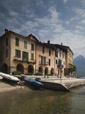 Buy House at the Lakeside, Santa Maria Rezzonico, Lake Como, Lakes Region, Lombardy, Italy at AllPosters.com