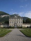 Buy Facade of a Building, Villa La Quiete, Tremezzo, Lakes Region, Lombardy, Italy at AllPosters.com