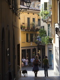 Buy Tourists in a Town, Bellagio, Lakes Region, Lombardy, Italy at AllPosters.com