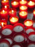 Buy Votive Candles in a Cathedral, Como Cathedral, Como, Lakes Region, Lombardy, Italy at AllPosters.com