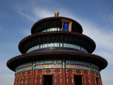 Low Angle View of a Temple, Temple of Heaven, Beijing, China