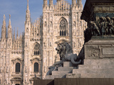 Church in a City, Duomo Di Milano, Milan, Lombardy, Italy