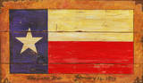 Texas Flag Vintage