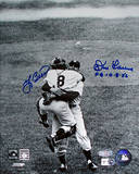 Yogi Berra / Don Larsen Hug Dual Signed PG 10-8-56 Insc Autographed Photo (H& Signed Collectable)