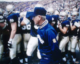 Chris Zorich With Lou Holtz