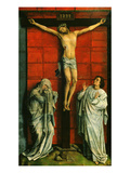 El Calvario Christ on the Cross with Mary and Saint John the Evangelist