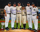 Yankees Final Game at Yankee Stadium Perfect Game Battery Mates w/ PG Insc.