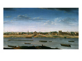Le Port Saint-Bernard, Vu De L'Arsenal (St Bernard Port Seen from the Arsenal, France), 1752