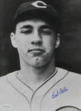 Bob Feller Signed Head Shot