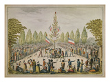 Plantation D'Un Arbre De La Liberté (Planting of a Liberty Tree), 1792, Watercolour