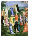 The Circle of Dominicans in Paradise from the Last Judgement