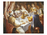 The Last Feast of Belshazzar, Died C.539 BC, King of Babylon, Provided for 1000 Lords
